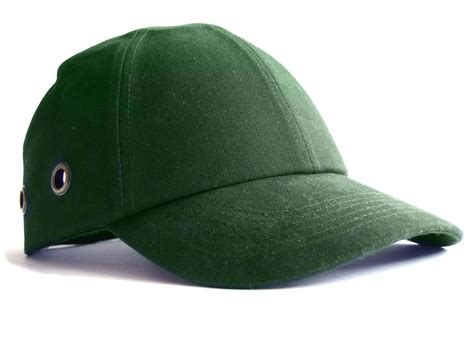 Safety Baseball Cap Green The Safety Shack
