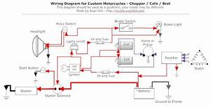 Universal Wiring Guide For A Bobber  Chopper Build