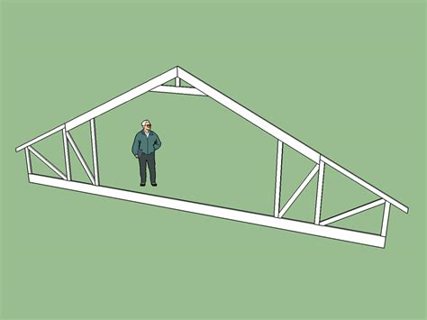 attic truss with raised heel truss engineering design fabrication useage eng tips