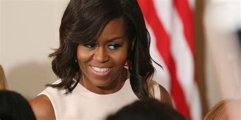 Michelle Obama's Curly Hair And More Celebrity Beauty