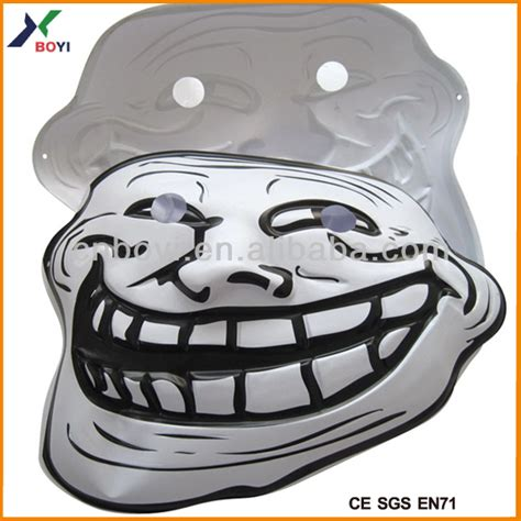 Meme Mask - realistic troll mask 3d embossed face mask meme party mask buy meme party mask embossed face