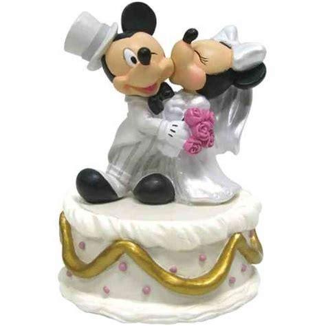 mickey minnie disney wedding cake topper figurine