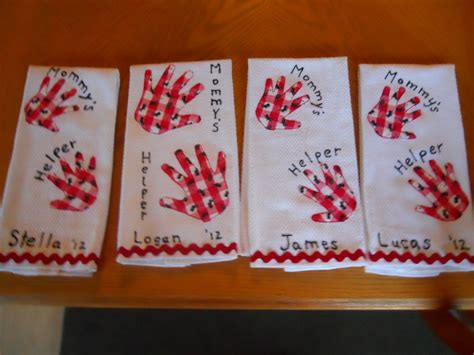 mothers day kitchen towels     daycare
