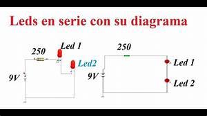 Circuito El U00e9ctrico-  U00bfc U00f3mo Conectar Leds En Serie Y C U00f3mo Se Lee Un Diagrama El U00e9ctrico