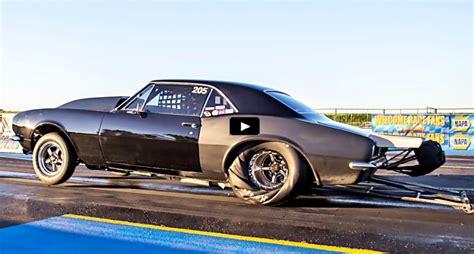 Turbocharged Drag Cars by Evil Turbo 7 Second Camaro Drag Racing Cars