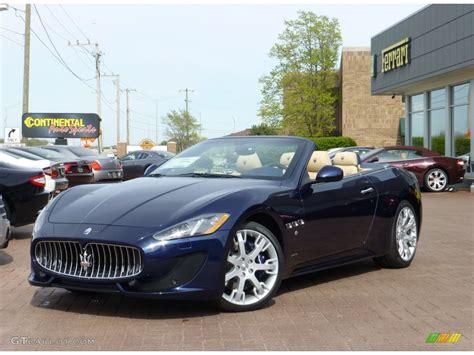 2013 Blu Oceano Blue Metallic Maserati Granturismo