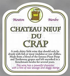 new funny wine label and gift bag novelty rude joke party With hilarious wine labels