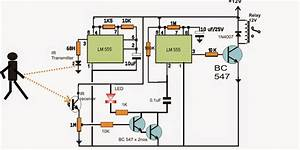 In This Article We Discus A Simple Ic 555 Based Proximity
