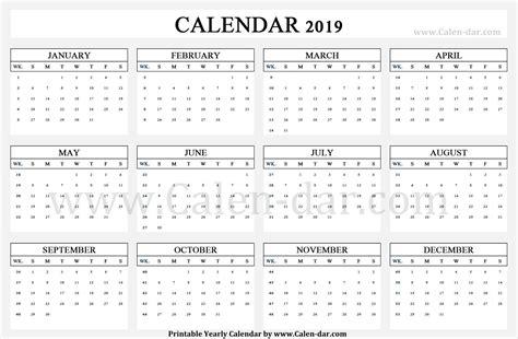 calendar week wise calendar week numbers calendar