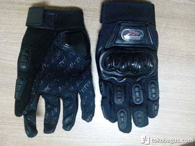 sarung tangan madbike hitam pabrikhelm jual helm murah