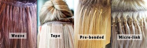hair extensions types hair extensions