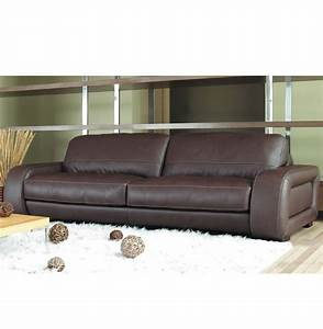 Diego sofa 7 foot leather sofa in brown leather or creme for 7 ft sectional sofa