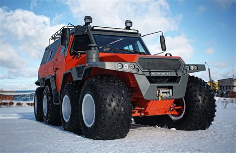 Shaman All-terrain Vehicle Tires On Low Pressure Of