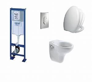 Toilettes Suspendues Grohe : grohe wc suspendu fiche technique awesome bati support grohe cuvette suspendu bastia allia et ~ Nature-et-papiers.com Idées de Décoration