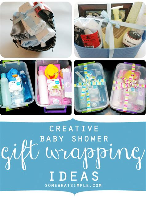 baby shower wrapping ideas creative baby shower gift wrapping ideas somewhat simple