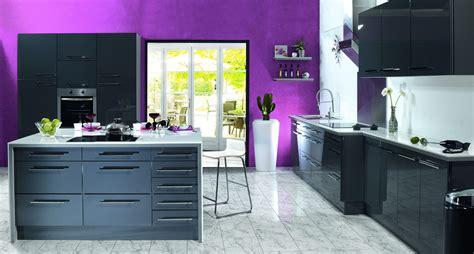 cuisine chez lapeyre cuisine aubergine et gris cobtsa com