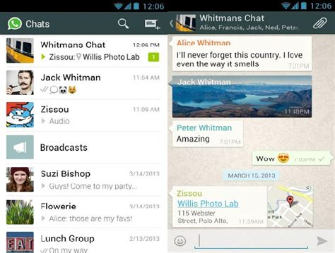 new look whatsapp update now on play store