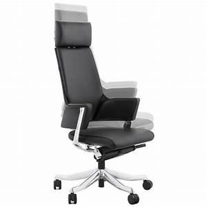 Fauteuil Cuir Noir : fauteuil de bureau lounge cuir noir ~ Melissatoandfro.com Idées de Décoration