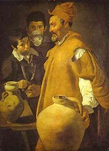 The Waterseller in Seville. - Diego Velazquez Painting