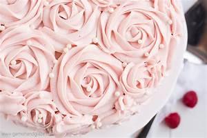Raspberry Rose Cake Garnish Glaze