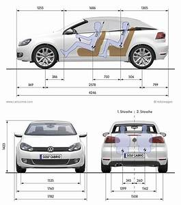 Dimensions Golf 5 : volkswagen golf 6 cabriolet fiche technique dimensions ~ Medecine-chirurgie-esthetiques.com Avis de Voitures