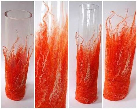 Painting Clear Glass Vases