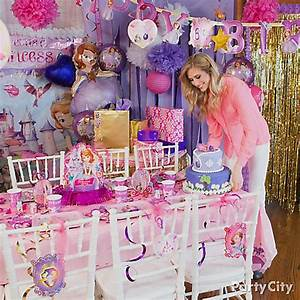 Sofia the First Party Table Idea - Party City
