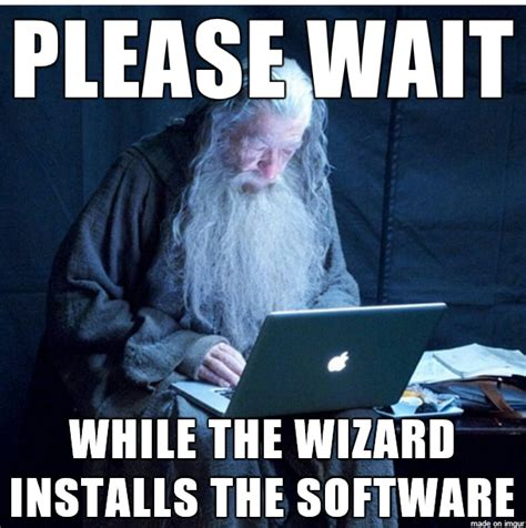 Computer Repair Meme - meme watch tech support gandalf is the only installation wizard you need tech support tech