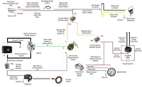 Chopper Wiring Cfl Diagram Motorcycles