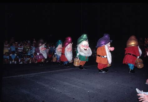 florida memory snow whites dwarves   main street