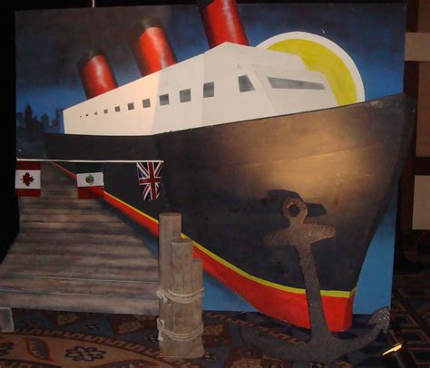 Cruise Theme Party Decorations Table   Or Cruise Decor