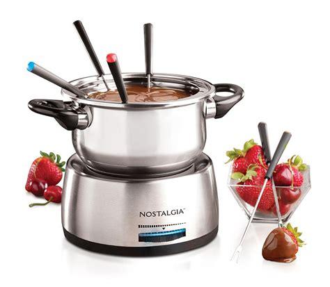 fondue pot nostalgia fps200 stainless steel fondue pot grey amazon ca home kitchen