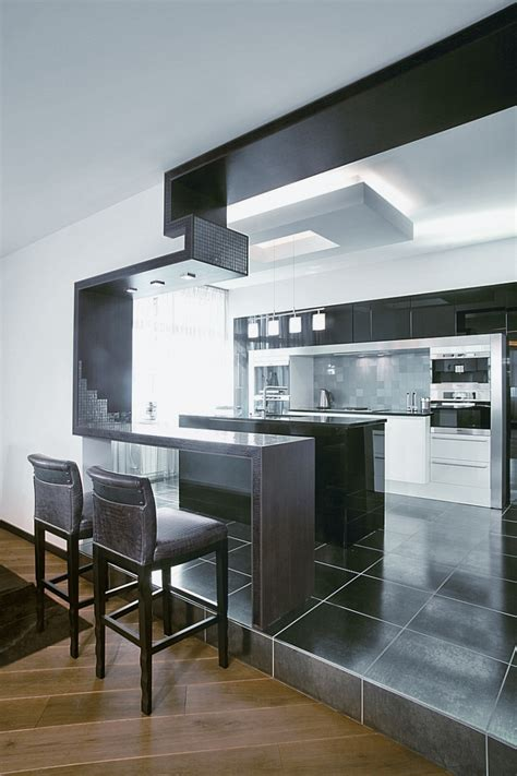 modern apartment  african elements  decor digsdigs