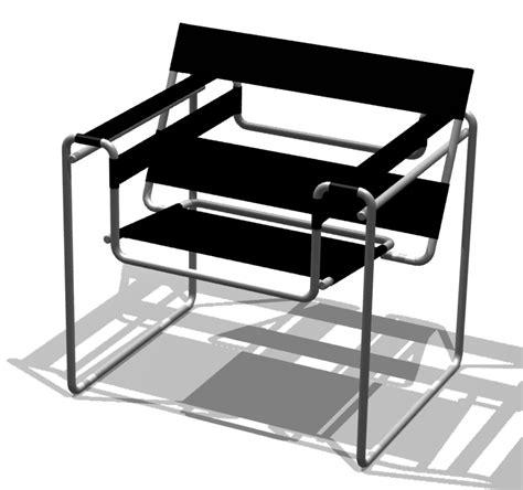 file bauhaus chair breuer png