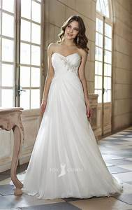 Strapless wedding dress bridalblissonlinecom for Wedding dress finder