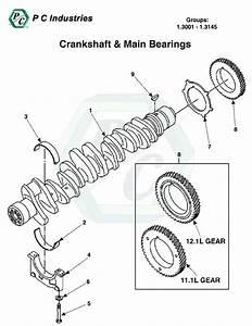 Crankshaft  U0026 Main Bearings