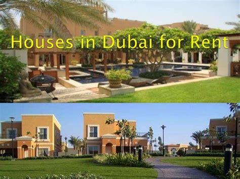 Houses In Dubai For Rent