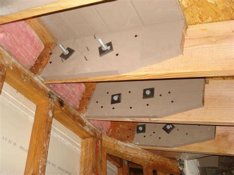 sample    reinforce rafters  ceiling rafters