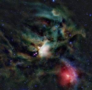 Scientists Discover an Outflow from a Young Protostar
