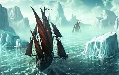 Viking Ship Wallpapers Wallpapersafari America Way