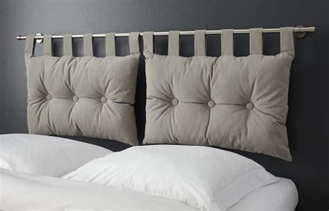 coussin tete de lit conforama decoration tete de lit coussins