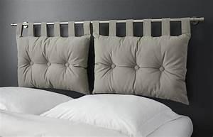 Coussin Tete De Lit Dehoussable : decoration tete de lit coussins ~ Teatrodelosmanantiales.com Idées de Décoration