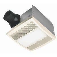 Broan Bathroom Light Fan Combo by Broan Nutone Qt Series Bathroom Bath Exhaust Fan Light