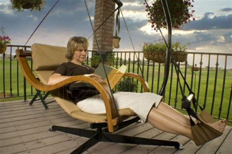 Hammock Lounge Chair by Deluxe Swing Hammock Chair Seat Hanging Lounger Footrest