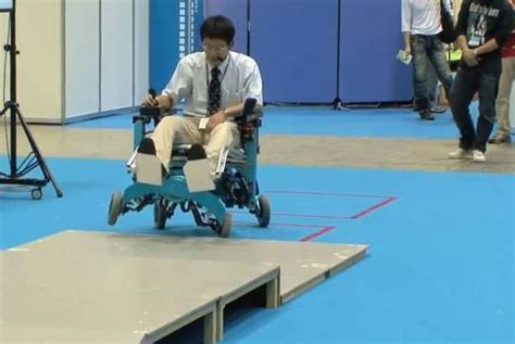 robo wheelchair can go up stairs psfk