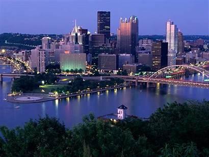 Pittsburgh Skyline Wallpapers Desktop Wallpaperaccess