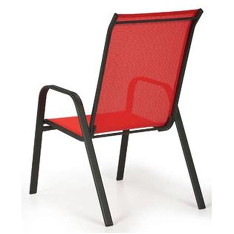 essential garden bartlett solid stack chair outdoor