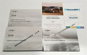 2018 Chevrolet Traverse Navigation Owners Manual User