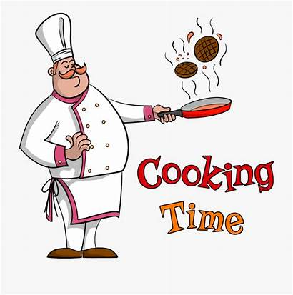 Chef Cooking Clipart Pan Frying Cook Cartoon