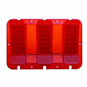 1967-1968 Ford Mustang Tail Light Red LED